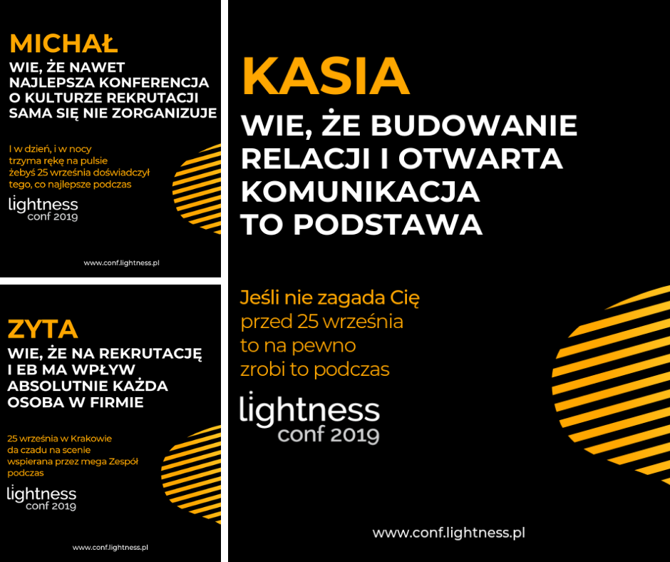 Zespół Lightness conf 2019